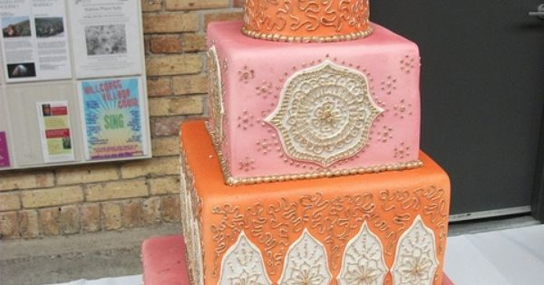 Indian wedding cake inspiration