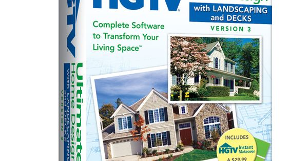 Hgtv Ultimate Home Design With Landscaping Decks 3 Complete Software To Transform Your Home