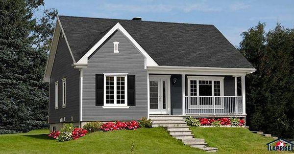 W2151 bungalow tr s conomique style transitional 2 for Maison eplans
