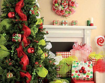 Deco Mesh Christmas Decorations