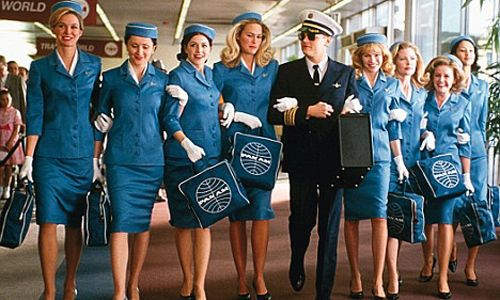 Catch Me If You Can Pan Am American Airlines Leonardo Dicaprio Flight Attendant