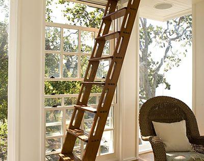 5 winning details trappen hoogslaper en zolder - Redo houten trap ...