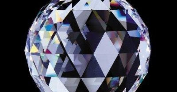 Prism Divination Faceted Crystal Ball - pagan wiccan witchcraft magick ritual supplies