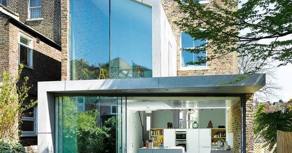 A Contemporary Extension to a Victorian house.