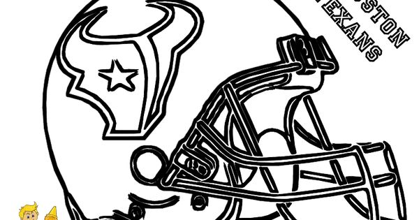 Houston texans coloring pages ~ NFL Football Stencils | Houston Texans Football Helmet ...