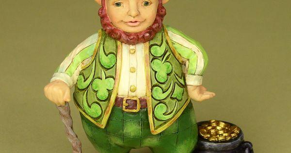 Irish leprechaun, Leprechaun and Figurine on Pinterest