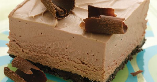 Mousse, Frozen and Squares on Pinterest