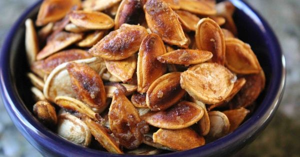 Sweet & Salty Pumpkin Seed Recipe