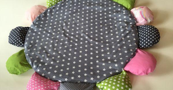 spielmatte krabbeldecke spieldecke blume products babies and sewing ideas. Black Bedroom Furniture Sets. Home Design Ideas