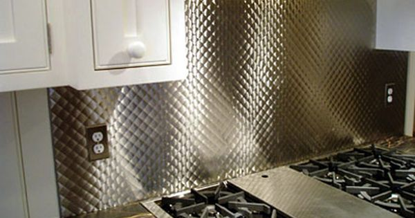 like in this picture brushed 1 quilted stainless steel