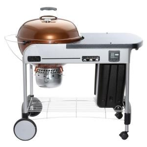 Weber Performer Premium 22 In Charcoal Grill In Copper 15402001