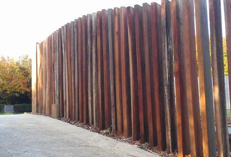 Vertical Timber Screen Google Search Pool