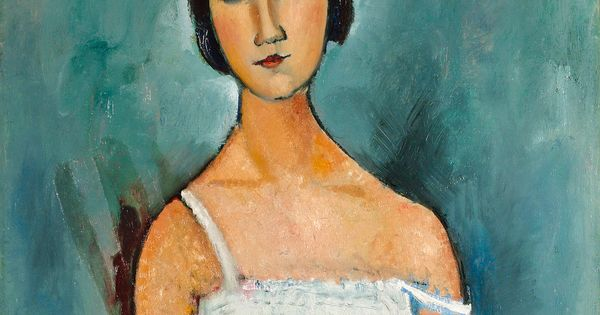 Amedeo Modigliani. Christina. 1916