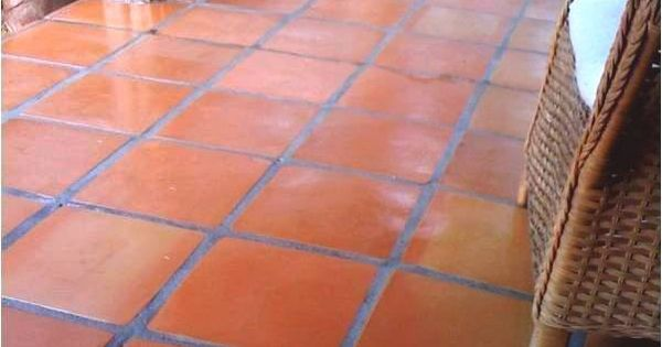 16x16 Super Sealed Mexican Floor Tile Sorted For More Red