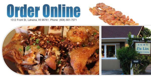 Chinese Food At Wailea