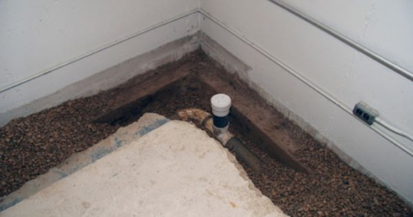 Basement interior drain tile basement waterproofing - Interior basement drainage systems ...