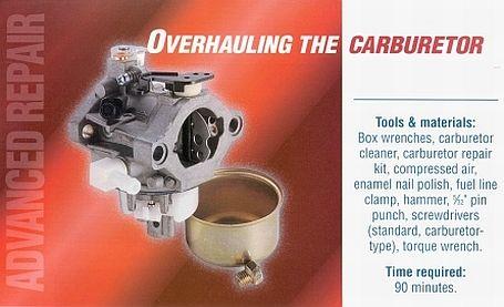 Carburetor Overhaul Mower Amp Small Engine Repair Briggs