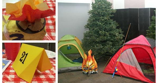 Blue & Gold Banquet   Camping theme, Blue gold and Banquet