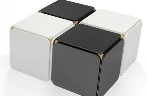 Zdjecie Produktu Stolik Kawowy Szescian Delkos Rubiks Cube Cube