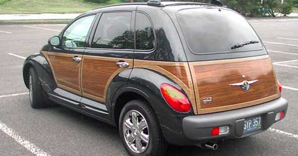 Chrysler Pt Cruiser With Woodgrain I Loved The Look Of These But Never Bought One Because Chrysler S Reliability Made Chrysler Pt Cruiser Cruisers Turbo Car
