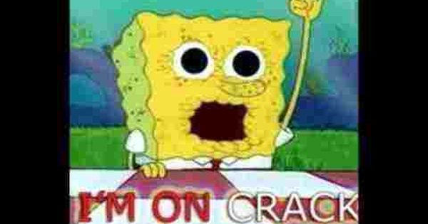 spongebob on crack!? LOL!! | funny meme's and pictures ...