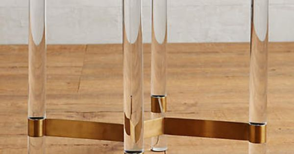 Anthropologie Oscarine Lucite End Table Furniture Pinterest Anthropologie Acrylics And Tables