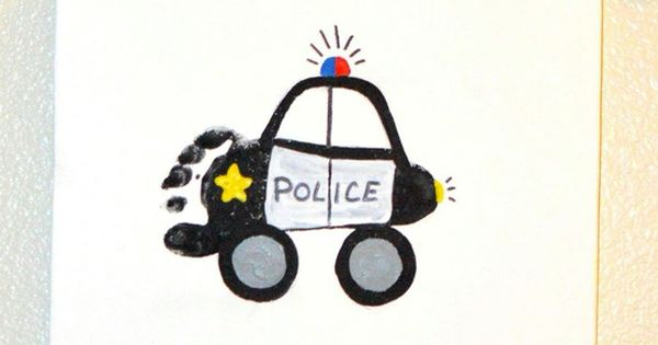 Fire Truck Police Car Amp Garbage Truck Footprints