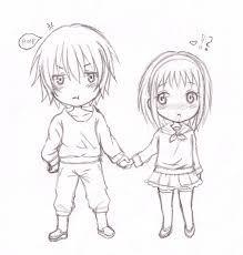 Hasil Gambar Untuk Anime Chibi Couple Drawing Chibi Drawing Kawaii
