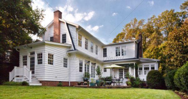 1439 Emory Rd Bullmoon Dutch Colonial House Exterior River House Decor
