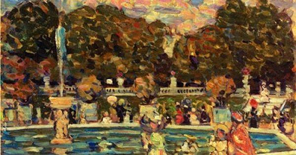 8a166e8cb1d0df3b56997e41ea485614 - The Monument To Chopin In The Luxembourg Gardens
