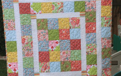 Quilting Digest Free Patterns : Super Quick and Easy Baby Quilt New Moms Will Love - Quilting Digest quilts Pinterest