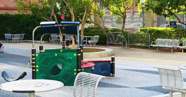 Petco Park Childrens Playpark Close Up May 2015 Downtown San