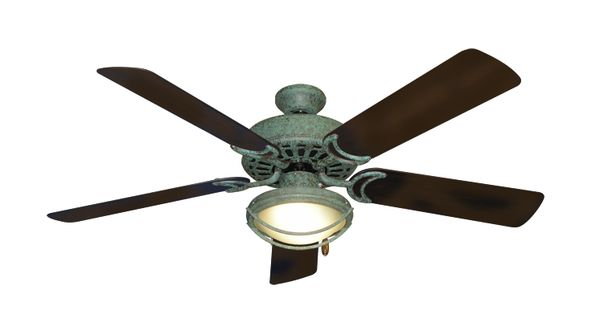 Dixie Belle Verde Green Ceiling Fan With 52 Quot Abs Oil