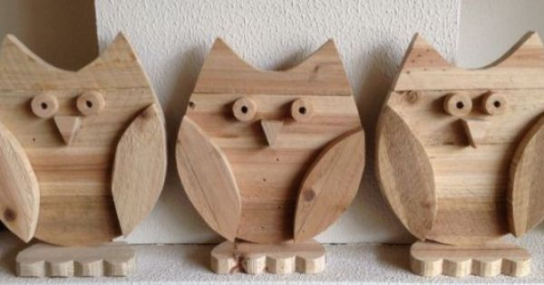 Uiltjes gemaakt van pallet hout knutselen pinterest hout - Photo deco slaapkamer volwassene ...
