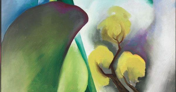 Georgia O'Keeffe: Spring, 1922, Oil on canvas   Art ...