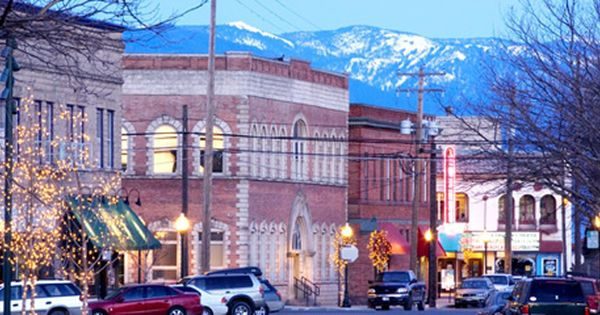 Downtown Sandpoint Idaho I Ate At A Quaint Little Mexican