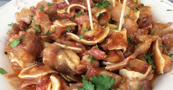 Esta receta de oreja de cerdo al ajillo es muy tradicional for Cocinar oreja de cerdo