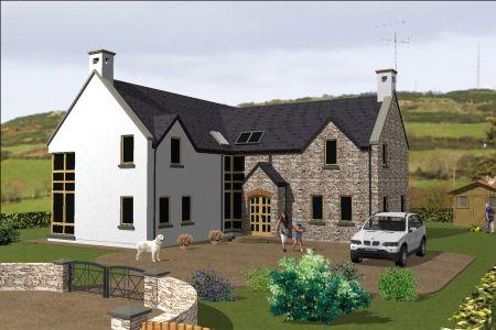 Dorm071 Irish House Plans House Plans Farmhouse House Designs Ireland