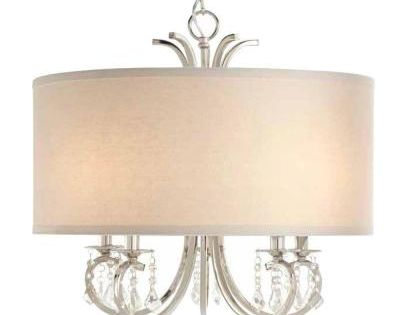Home Decorators Collection 5 Light Polished Nickel Chandelier Pendant Chandelier Polished