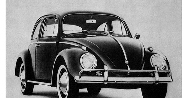 1960 VW Volkswagen Beetle Lemon Print Ad | eBay