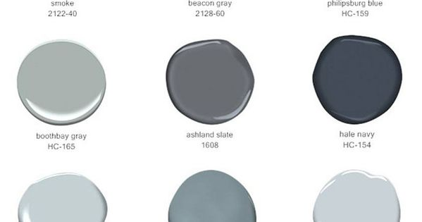 Best Selling Blues And Grays By Benjamin Moore Paints