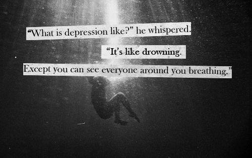 Deep Depression Quotes Tumblr