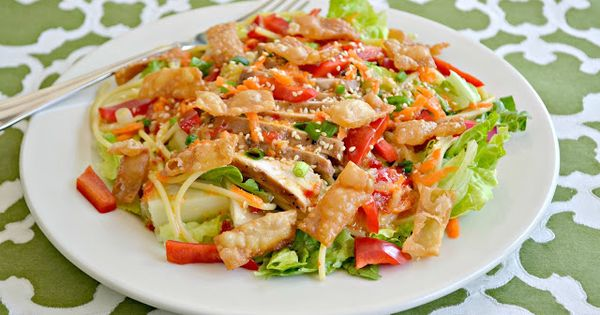 Copy Old Chicago Asian Chicken Salad | salads | Pinterest | Chicken ...