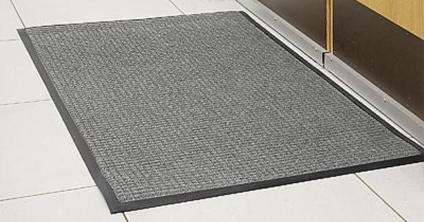 3 X 5 Medium Gray Waterhog Carpet Mat By Waterhog 79 00 Waterhog Soak Up Snow Water And Ice Quickly End Wet Slippery Carpet Mat Carpet Slippery Floor