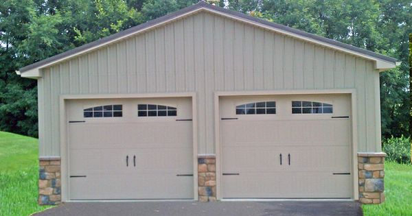 Garage builders in pa amish garages pole building for Amish built pole barn houses
