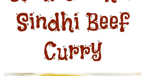 Slow cooker Sindhi beef curry can cook all day while you're at work ...
