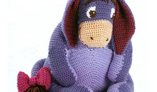 Free Crochet Pattern Donkey Hat : Crochet pattern Eeyore crocheting Pinterest Eeyore ...