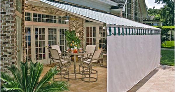 Another Good Idea Patio Retractable Awning Patio Patio Awning