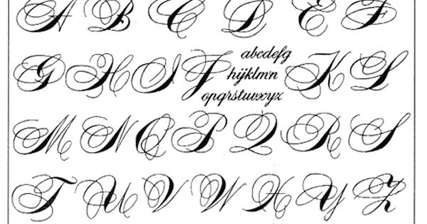 Letras Goticas Para Imprimir: Letras Entrelazadas Para Imprimir