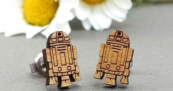Star Wars R2-D2 Post Earrings